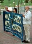 1998, gesto por la muerte de Inazia Zeberio