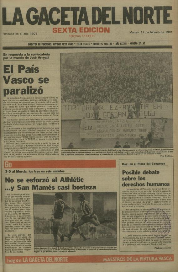 19810217-La Gaceta Jose Arregui